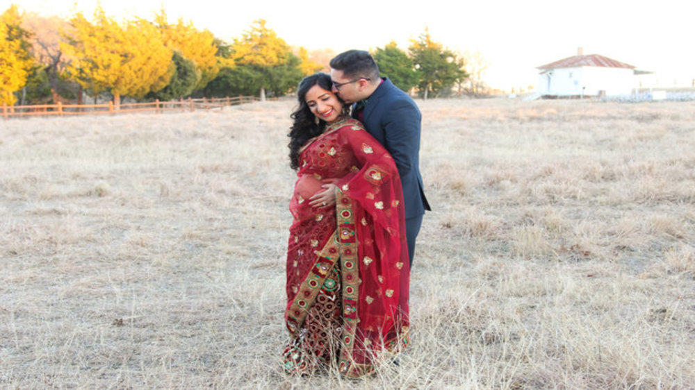 Photos Spanish Husband And Indian Wife Expecting Their