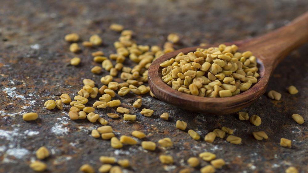 methi seeds for skin