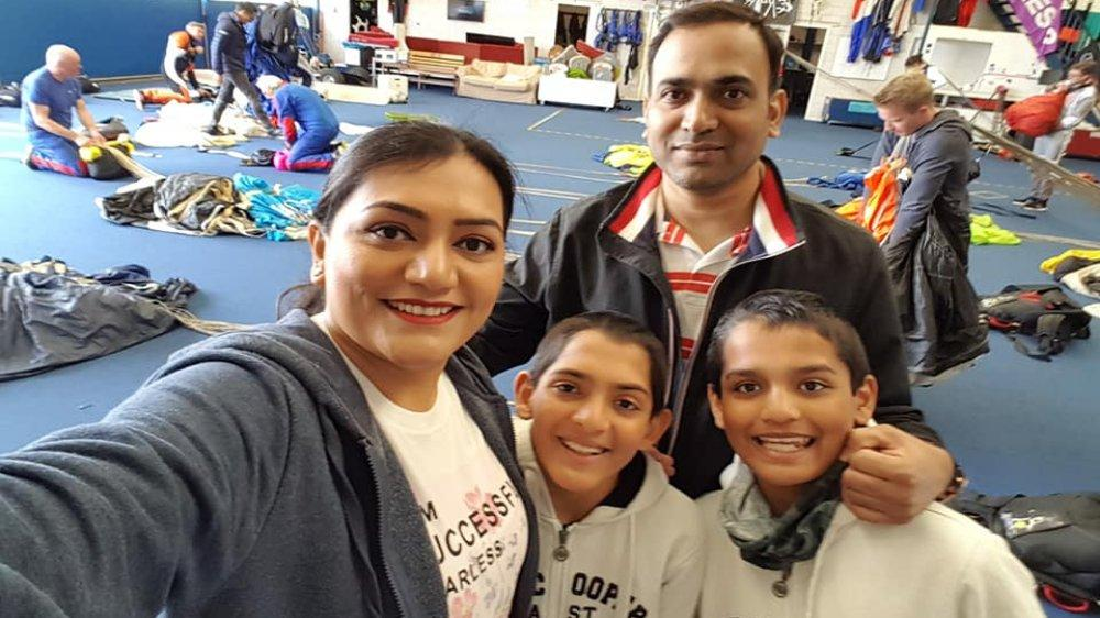 837fb23c3 Pune Parents Celebrate Birthday Of 10-Year-Old Twin Boys By Skydiving  Together,